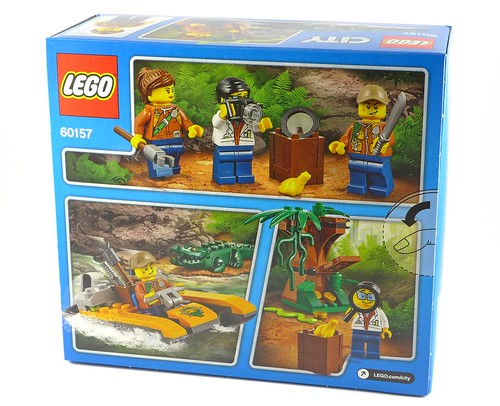 LEGO City 60157 Jungle Starter Set box02