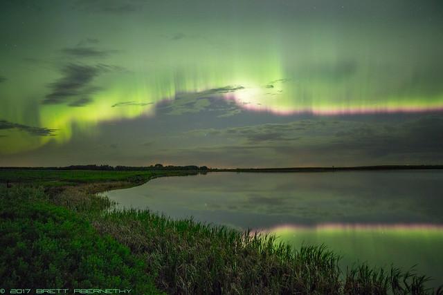 An Energetic Aurora