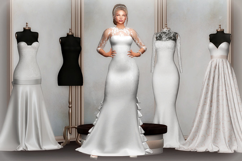 A wedding dress is both intimate and personal for a woman it must reflect the personality and style of the bride
