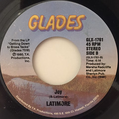 LATIMORE:TAKE ME TO THE MOUNTAIN TOP(LABEL SIDE-B)