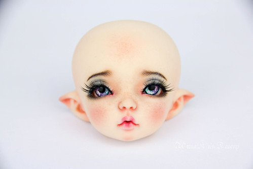 Faceup commission of LTF Ante mod | by AnnaZu