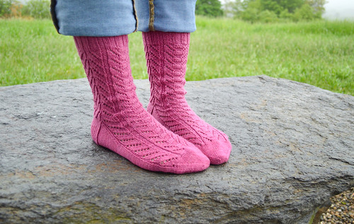 Plumtree Socks