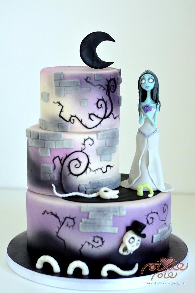 Corpse bride birthday cake Pixie Pie Flickr