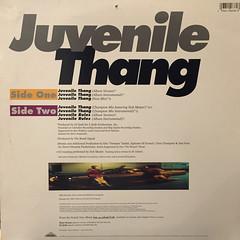 JUVENILE COMITTEE:JUVENILE THANG(JACKET B)