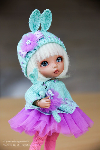 Turquose lilac Bunny outfit for pkf, lati Y | by AnnaZu