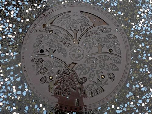 Machida Tokyo, manhole cover 3 (東京都町田市のマンホール3)