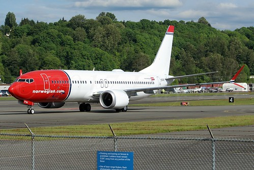 Boeing 737 MAX 8 Norwegian Air International N60697 (EI-FYA) LN6360