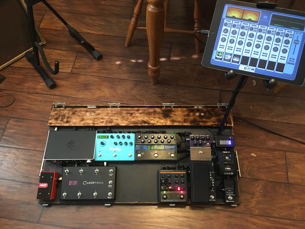 Write-Up: Adding MIDI Control to a Guitar Effects Pedal