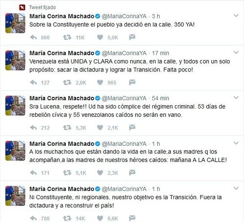 El CNE anuncia para julio Constituyente en Venezuela