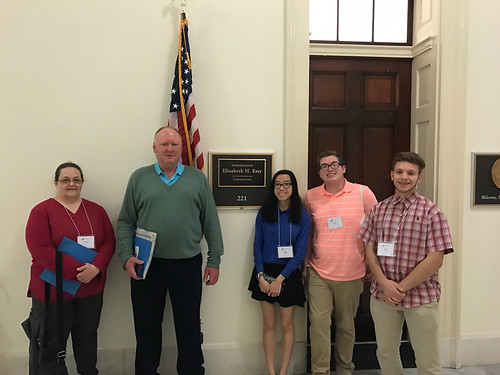 2017 Science advocacy trip to Washington DC