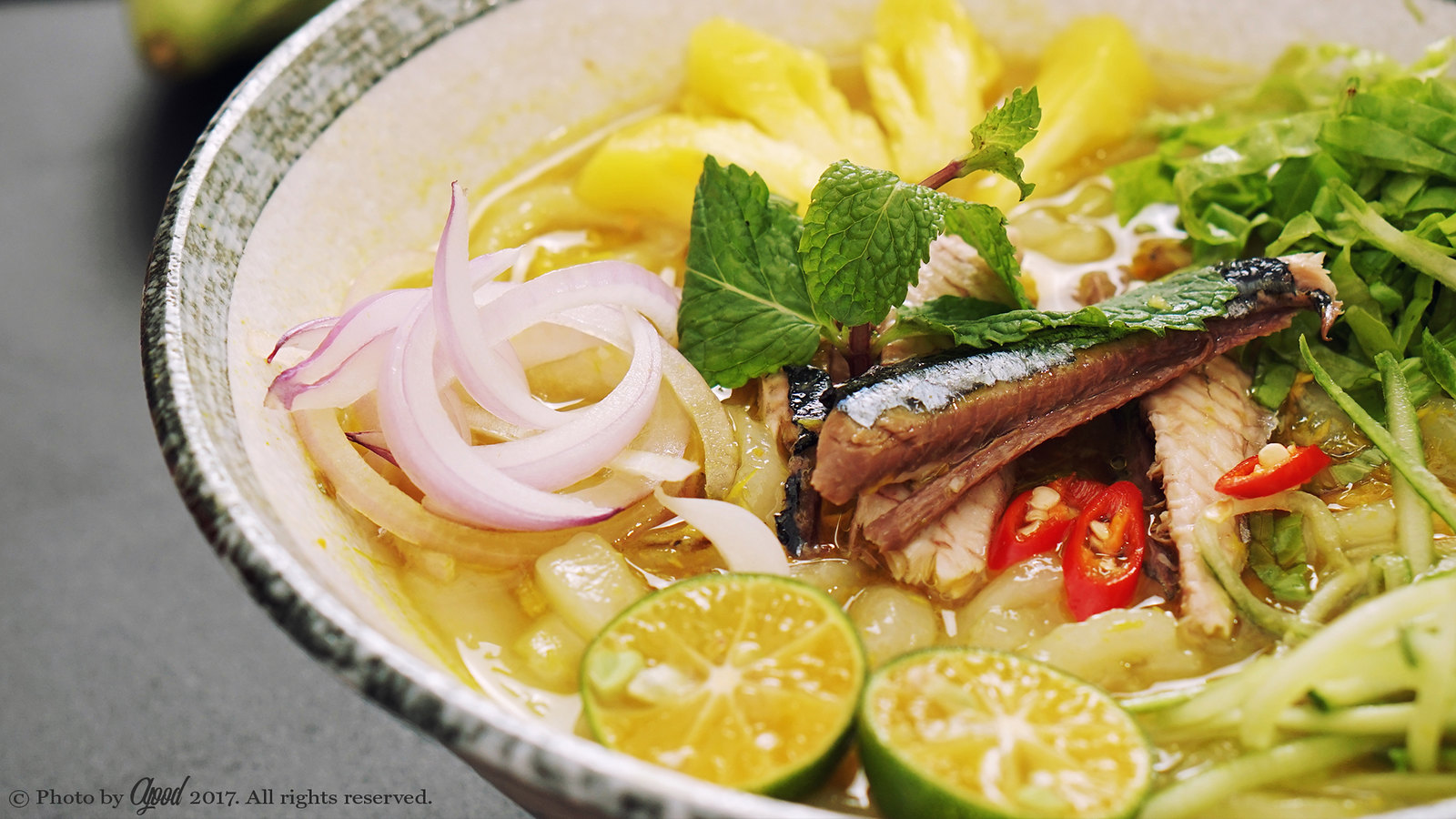 Assam Laksa – Malaysian sour and spicy fish soup noodles