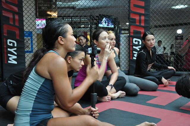 UFC Gym Philippines Brazilian jiujitsu trial session