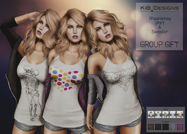 KiB Designs - Shaaramay Shirt & Sweater GROUP GIFT