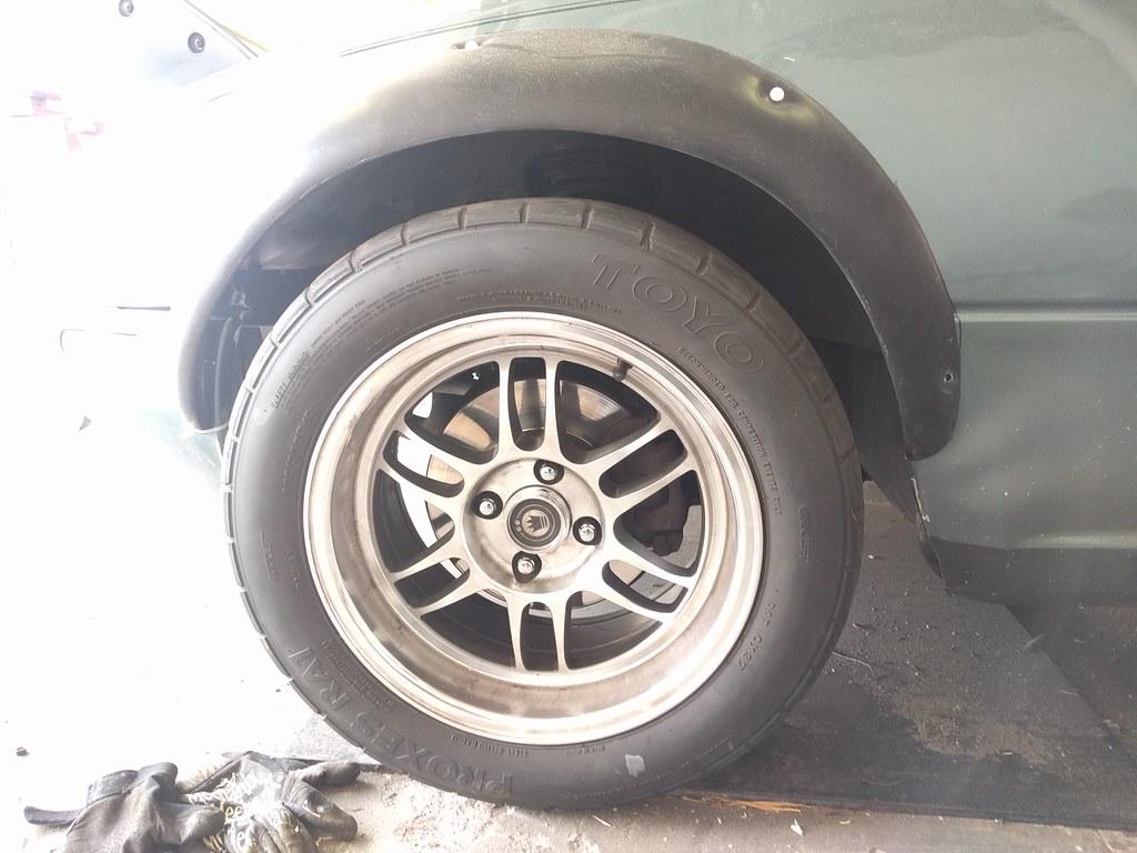 trimmed wheelwells