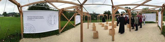 Kongregationwallfahrt der österreichischen Benediktiner zur Landesgartenschau