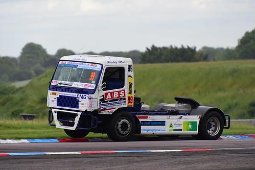 Paul McCumisky, Volvo FM12 12000, British Truck Racing Championship, Thruxton 2017