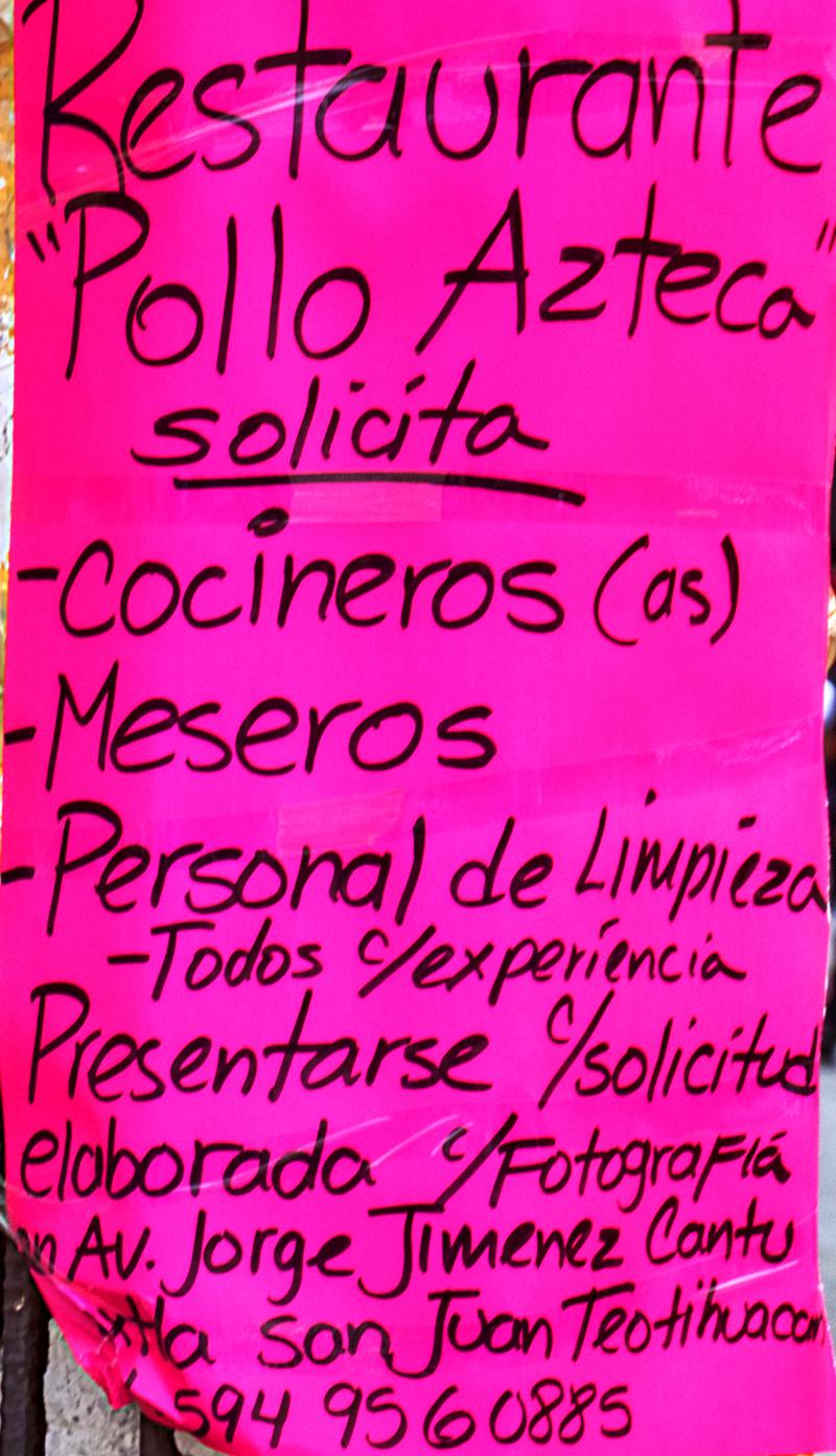 School children--San Juan Teotihuacan (detail)