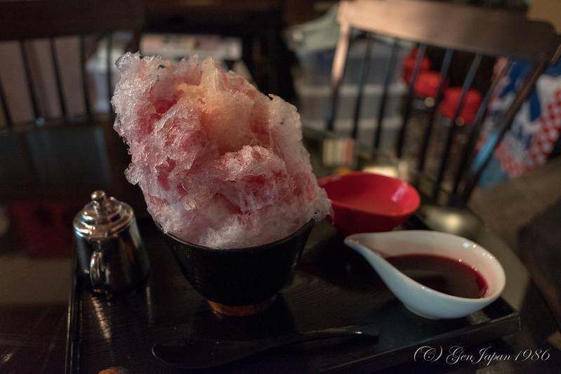 阿左美冷蔵 かき氷