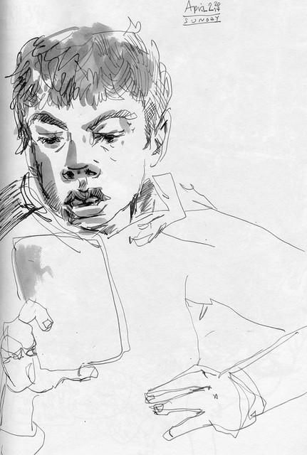 Sketchbook #104: Reading Time