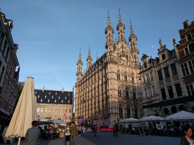 gouden randje, Leuven