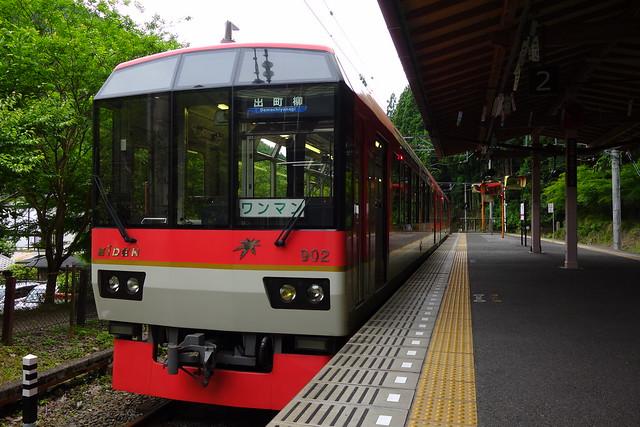 2017/06 叡山電車鞍馬駅 #04