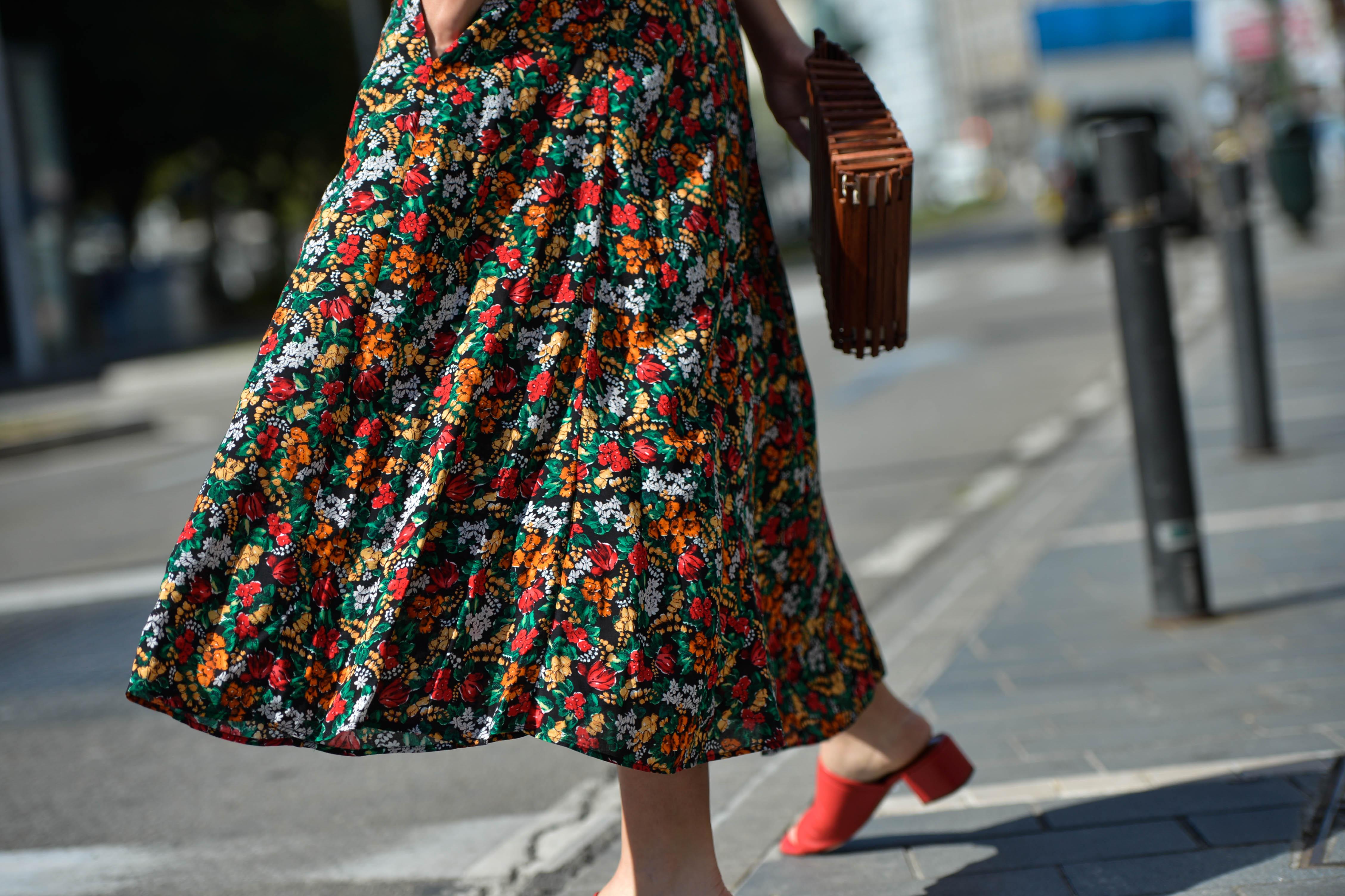 Flowered dress