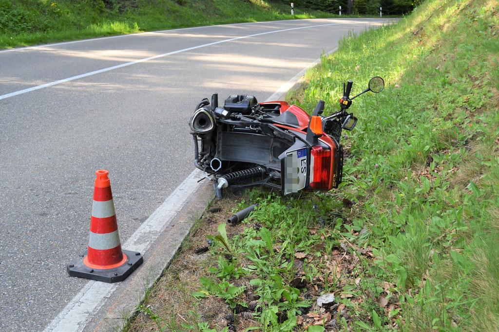 Kleinenztal: Motorradunfall - 25.05.2017