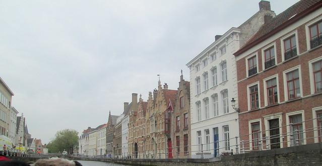 Canalside Buildings, Bruges