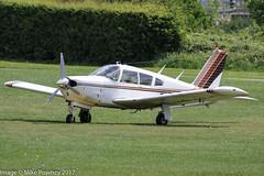 G-AYAC - 1969 build Piper PA-28R-200 Cherokee Arrow, visiting Barton