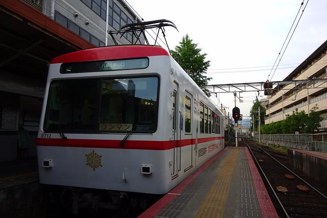 """2017/05 叡山電車712号車 """"えいでんまとい号"""""""