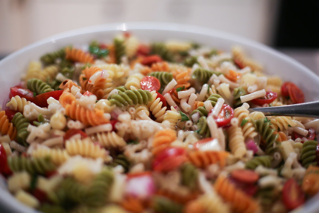 Super simple Italian Pasta Salad Recipe