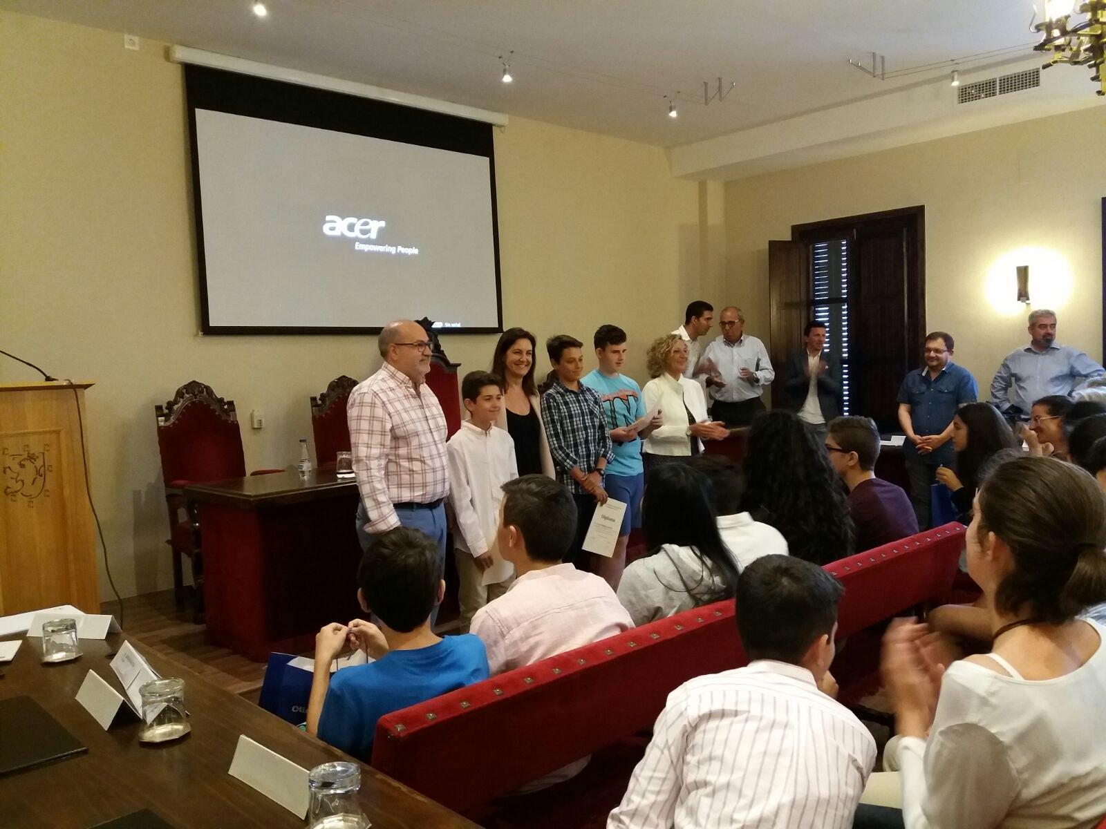 Alumnos de Badajoz, Plasencia y Cazadilla de los Barros serán los representantes extremeños en la Olimpiada Matemática Nacional