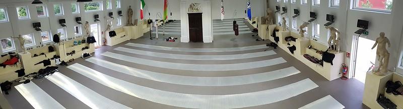 The Gairethinx training floor