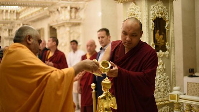 法王噶瑪巴訪問歐洲最大的印度神廟