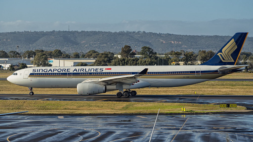 Singapore airlines adelaide