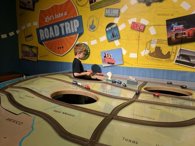 LeMay Car Museum: US Map 2