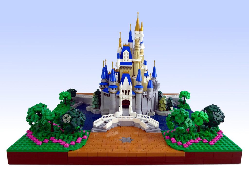 Cinderella Castle Back In 2016 Lego Revealed A Beautiful