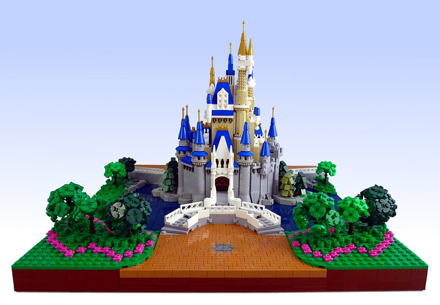 Moc Cinderella Castle Lego Licensed Eurobricks Forums