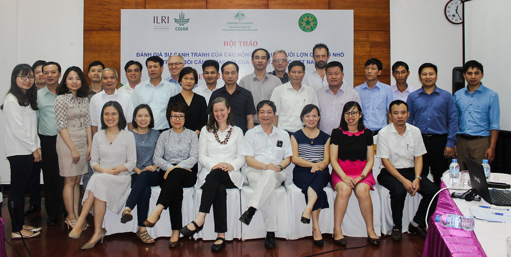 Stakeholder workshop: Assessing competitiveness of smallholder pig farming in the changing landscape of the northwest of Vietnam