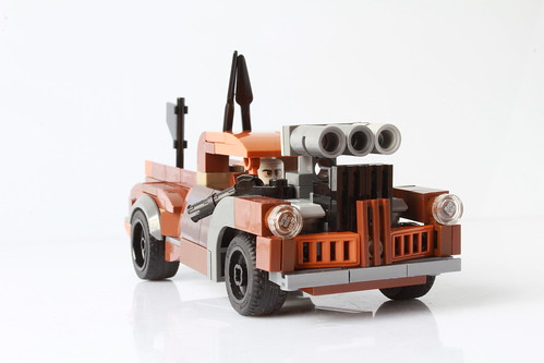 Lego Cranky Frank from Mad Max