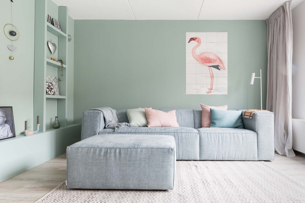 Pretty Pastel Home in Netherlands
