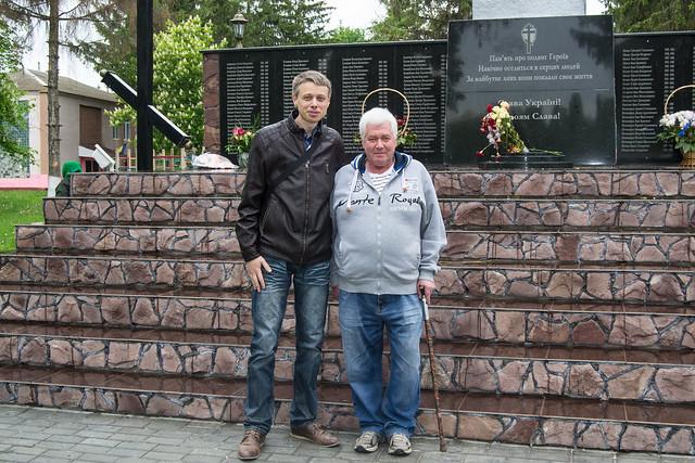 Николай Пекарский и Михаил Корман в Кузьмине