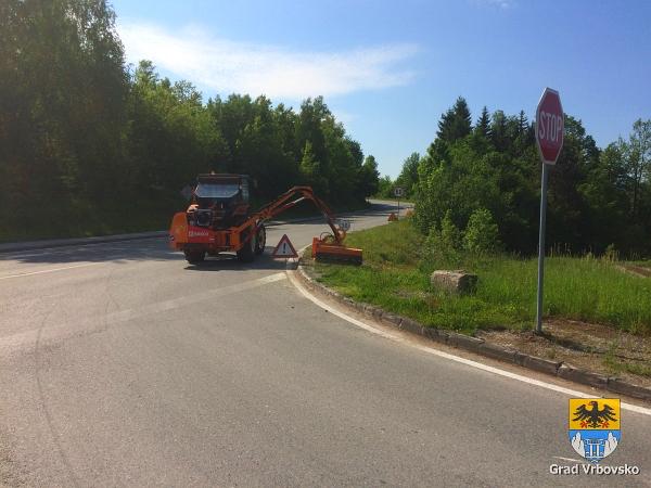 Održavanje bankina cesta - 17.05.2017.