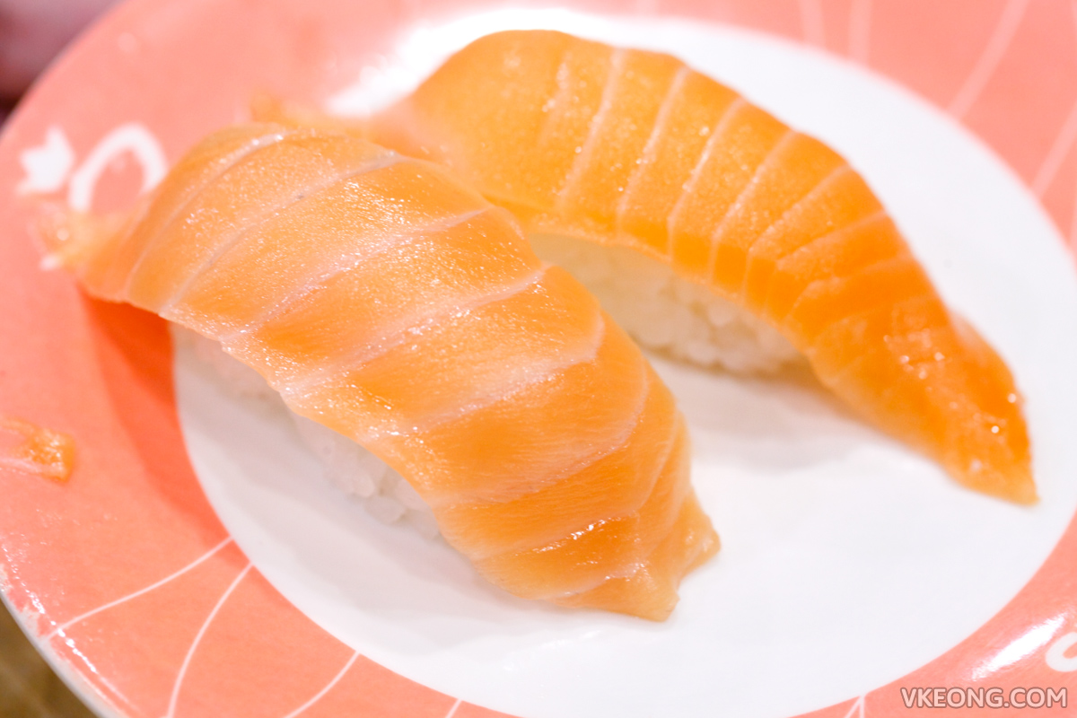 Sushi King Buffet Salmon Sushi