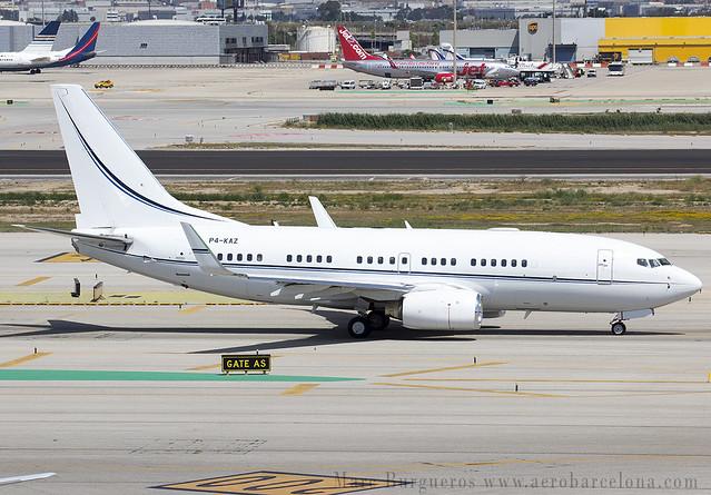 KAZAKSTÁN GOV P4-KAZ 737