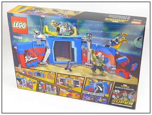LEGO Marvel Super Heroes 76088 Thor vs. Hulk Arena Clash box02