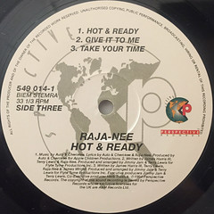 RAJA-NEE:HOT & READY(LABEL SIDE-C)