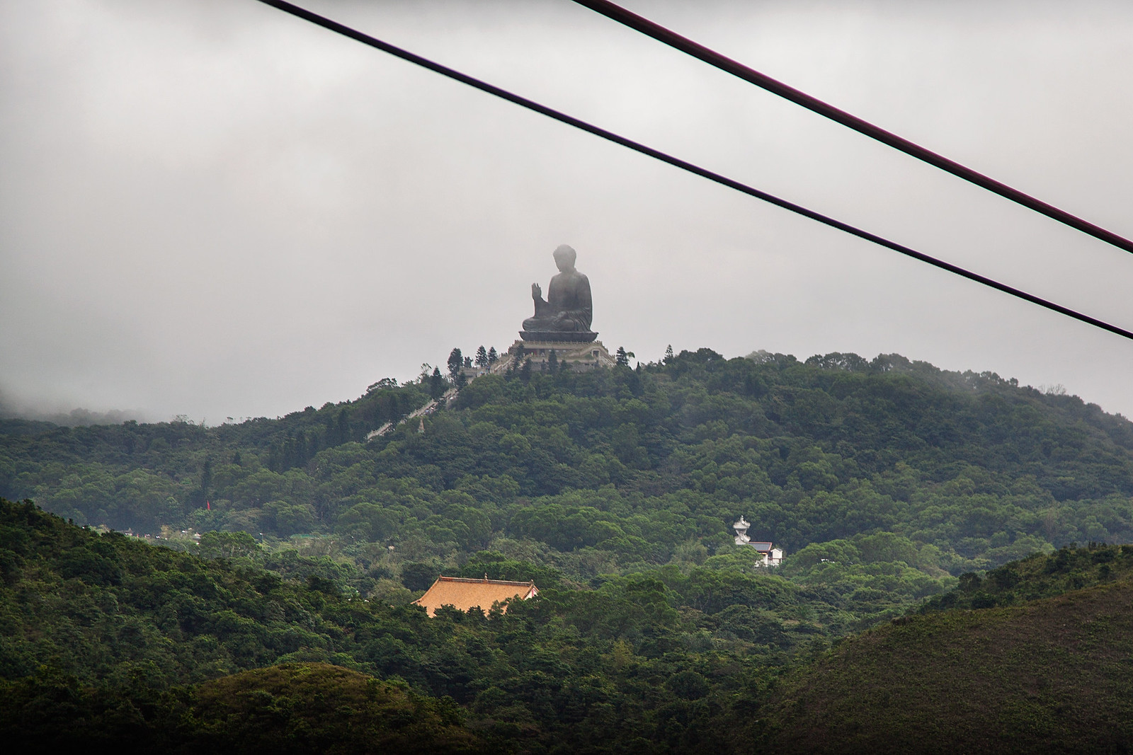 Tian Tan Buddha from Ngong Ping 360