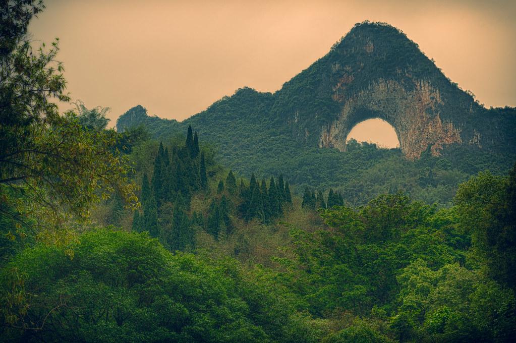 Moon Hill - Yangshuo, China