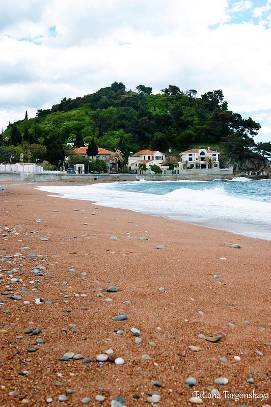 Восточная часть прибрежной части города